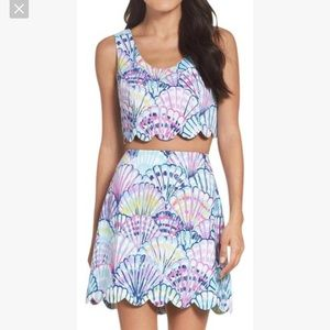 Lilly Pulitzer Oh Shello Two Piece Cadden Set